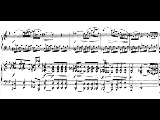 Mozart/Grieg - Piano Sonata no.16, K.545 arr. for two pianos {Live Lugansky/Rudenko}