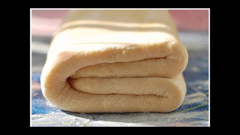 СЛОЕНОЕ ТЕСТО за 10 МИНУТ УНИВЕРСАЛЬНОЕ ХРУСТЯЩЕЕ Puff pastry