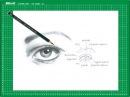 Nuevo CURSO de dibujo a lápiz Cap. 6 El ojo de frente