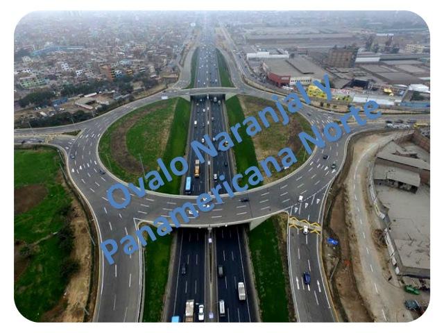 Obra Urbana Intercambio vial Panamericana Norte y Naranjal - Lima Perú