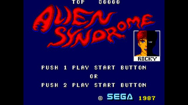 Master System Longplay [102] Alien Syndrome