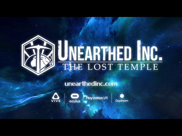 Unearthed Inc The Lost Temple - Reveal Trailer