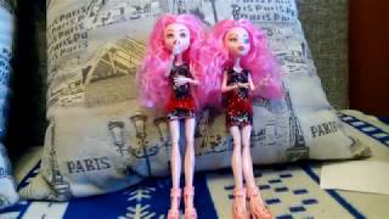 Мини-обзор подделок Монстер хай/Mini Review of fakes Monster High doll(Vilka ViVilka)