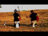 Ponyboy Oneman Trio Dirty Chucky - Surfin' With The Rednecks surf psychobilly