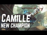 New Champion Camille - Camille Abilities Preview Gameplay - The Steel Shadow League of Legends