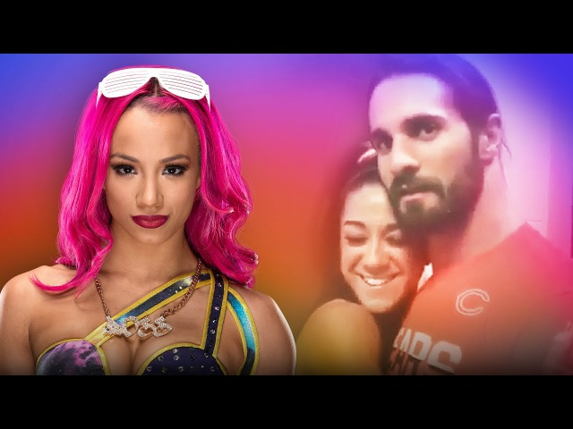 Why are Sasha and Bayley fighting over Seth Rollins?