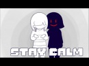 Undertale Stay Calm ver Frisk FNAF