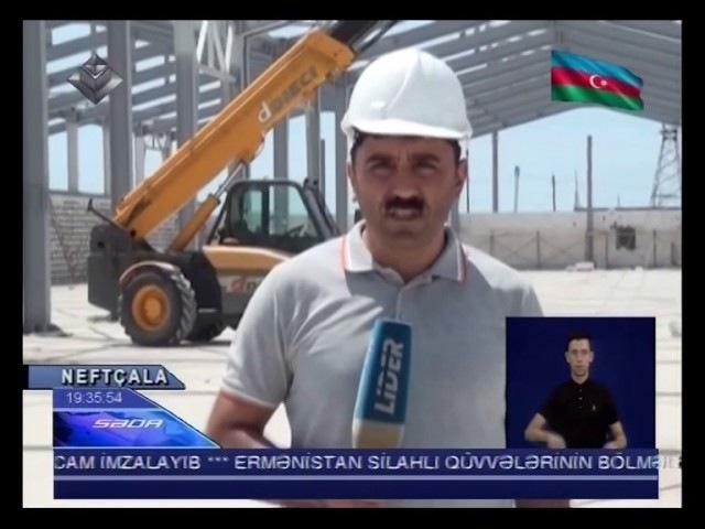 Səda - Avtomobil zavodu bu ilin oktyabr ayınadək hazır olacaq (13.07.2017)
