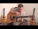 Великолепный тэппинг на гитаре от tobias rauscher