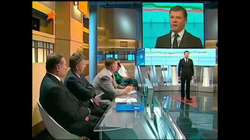 Новости Дня 2014 Єдиний нардеп який каже правду Олег Ляшко на Свободі слова