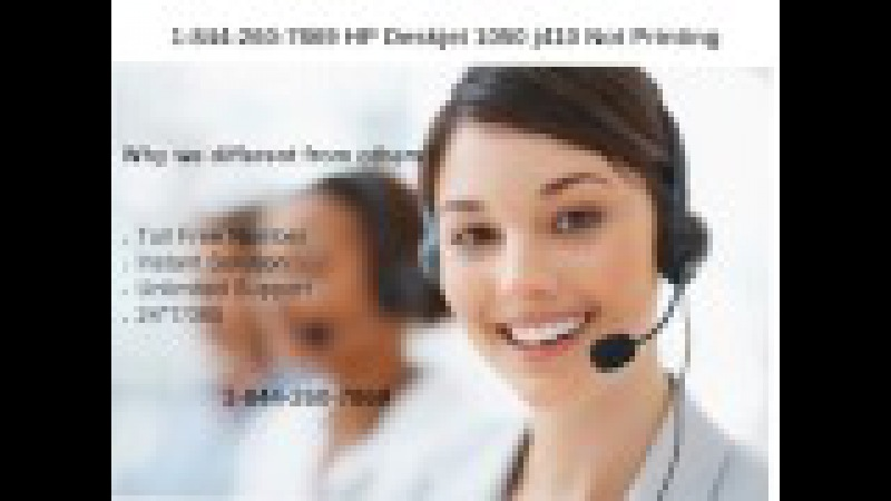 1-844-260-7869 HP Deskjet 1050 j410 Not Printing