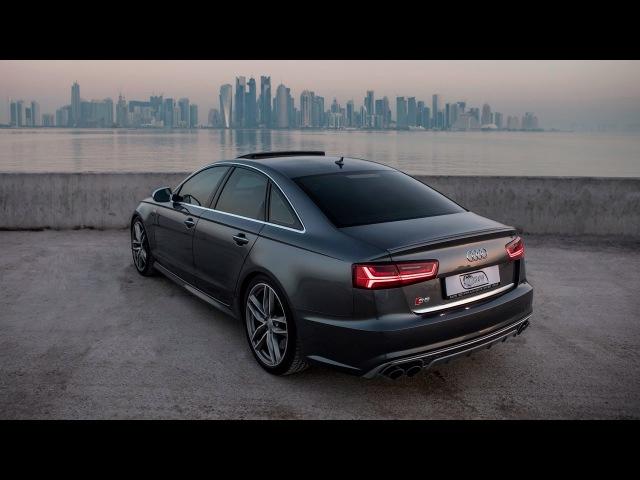 2017 Audi S6 450hp V8TT in Daytona gray pearl effect rocking the exclusive Doha