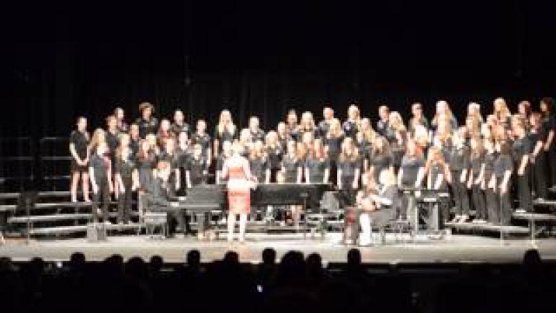 Sansa Kroma sung by the Hayes HS Concert Choir 5 12 2014