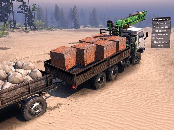 КамАЗ -53212 s для Spintires - Скриншот 1