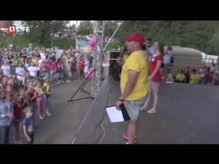 Танцевальный рекорд в Омске