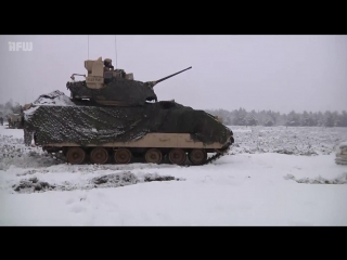 M1A2 Abrams Tanks Fire Its First Rounds In Poland