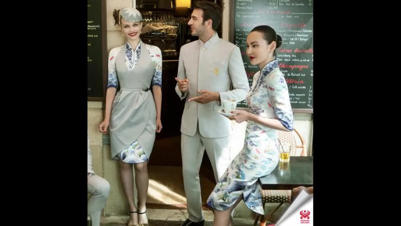 Стюардессы Хайнаньских авиалиний теперь самые модные в мире. Руководство компании решило предоставить девушкам новую форму, кото