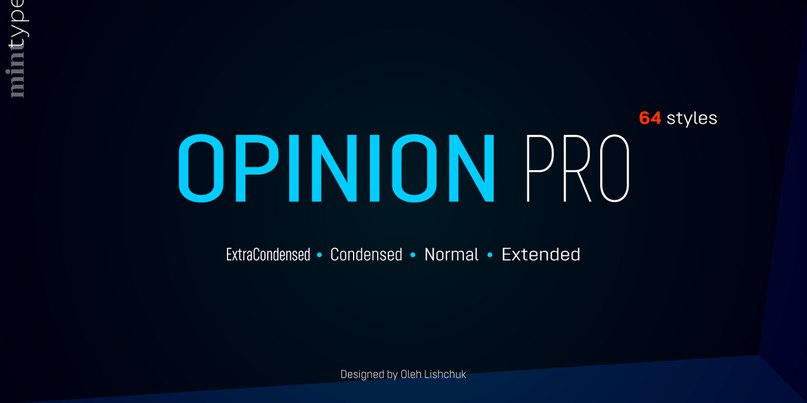 Download Opinion Pro font (typeface)