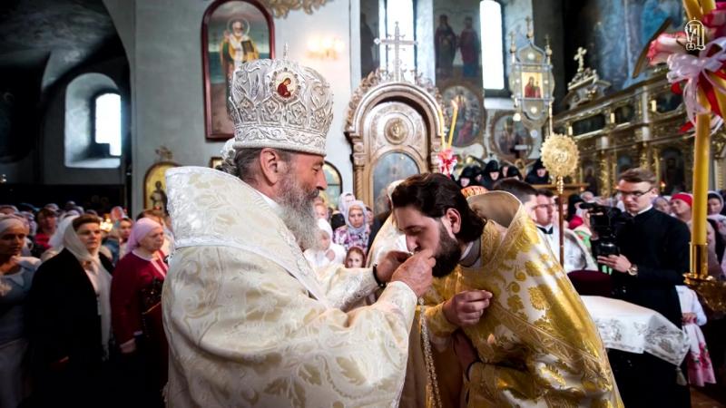 Вознесіння_ Предстоятель звершив Літургію у Флорівському монастирі