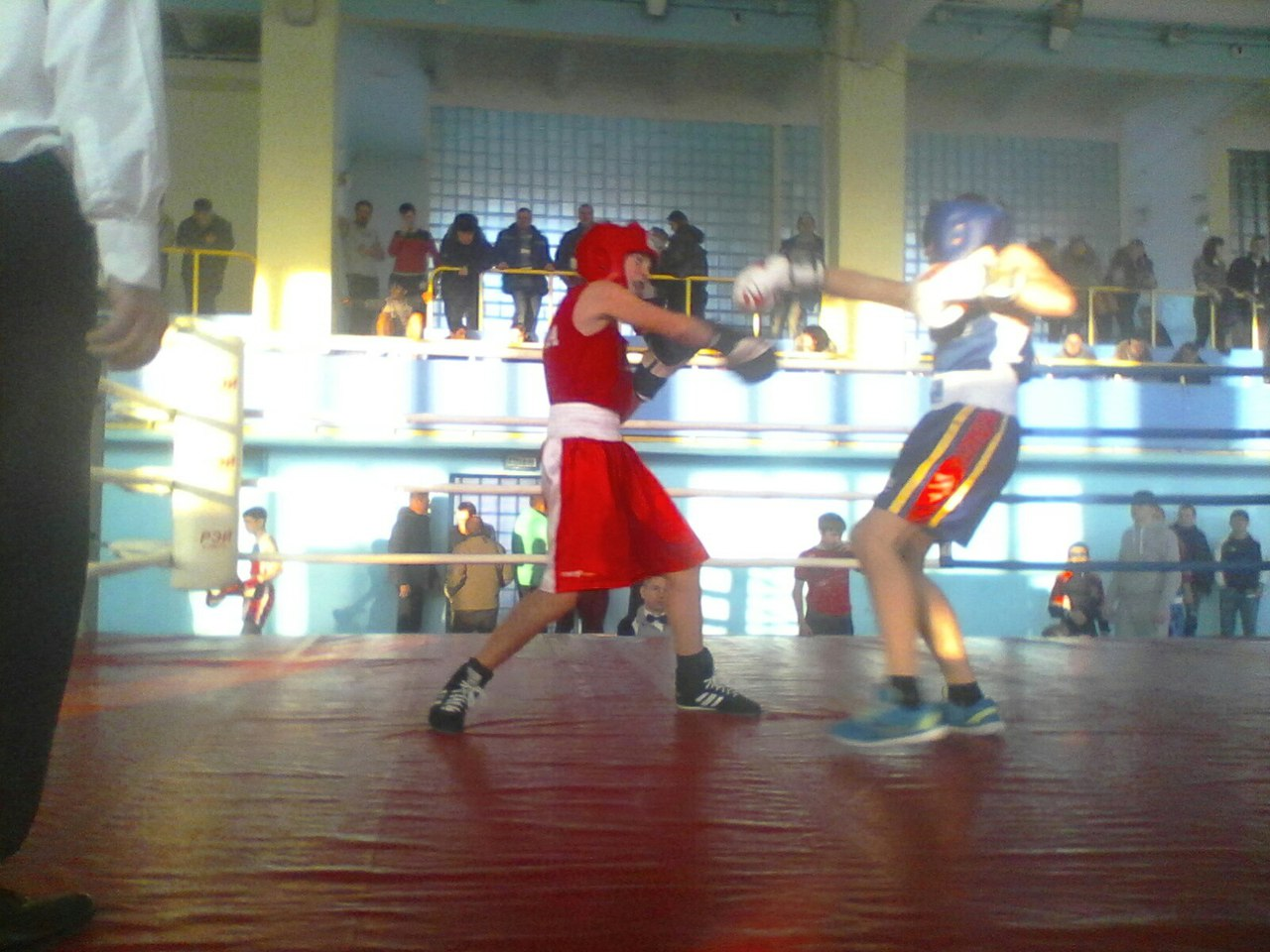 В общекомандном зачёте победу одержали хозяева ринга – узловчане