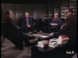 Александр Зиновьев и Борис Ельцин в программе Апострофы французского телевидения(1990)