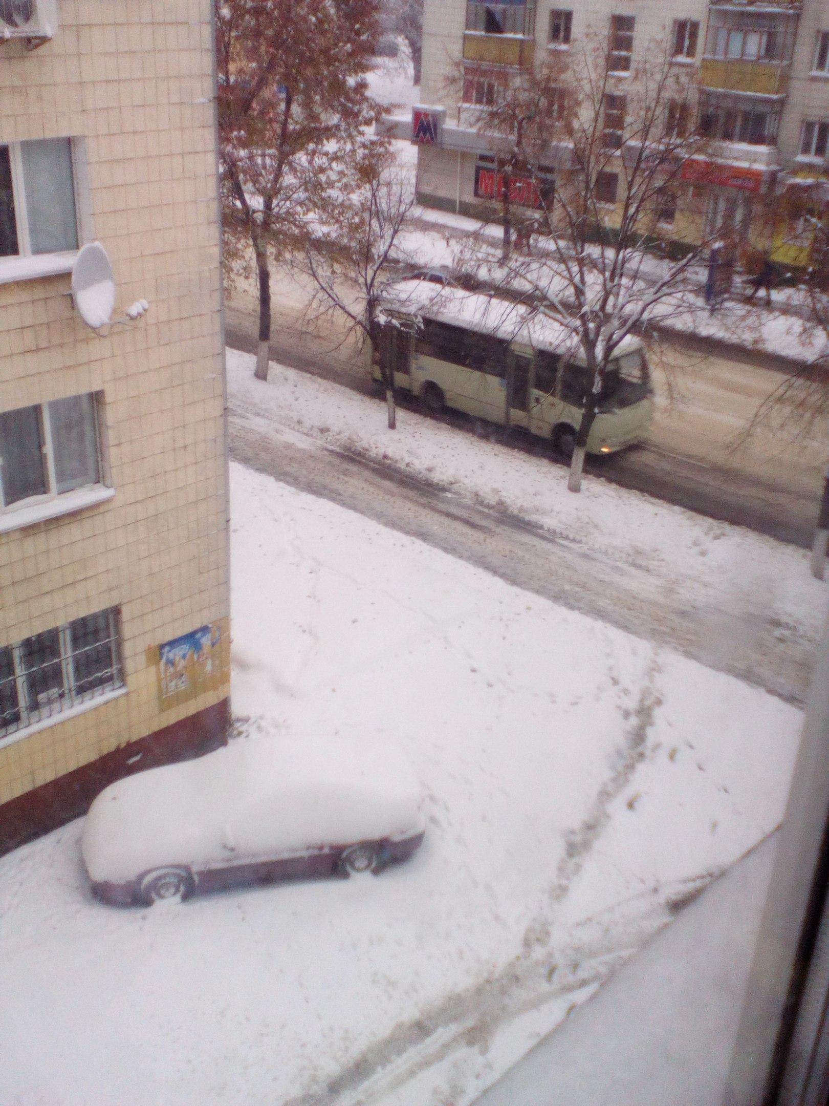 Житомир в снегу