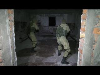 Тактико-специальное учение с разведподразделениями ВВО по стрельбе из бесшумного оружия