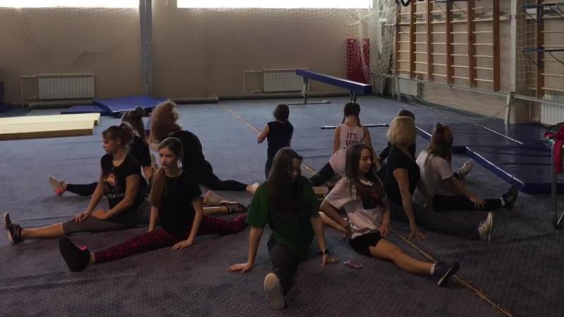тренировки Танцевально-гимнастического клуба Истра