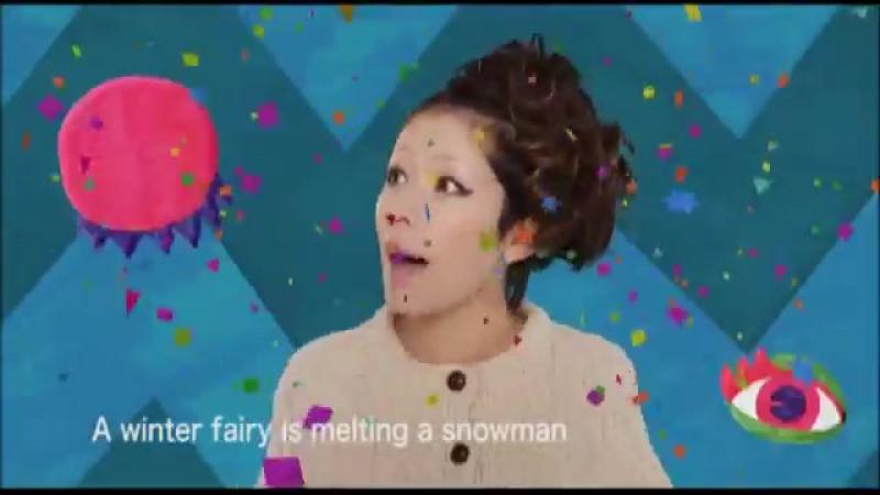 木村カエラ「A winter fairy is melting a snowman」
