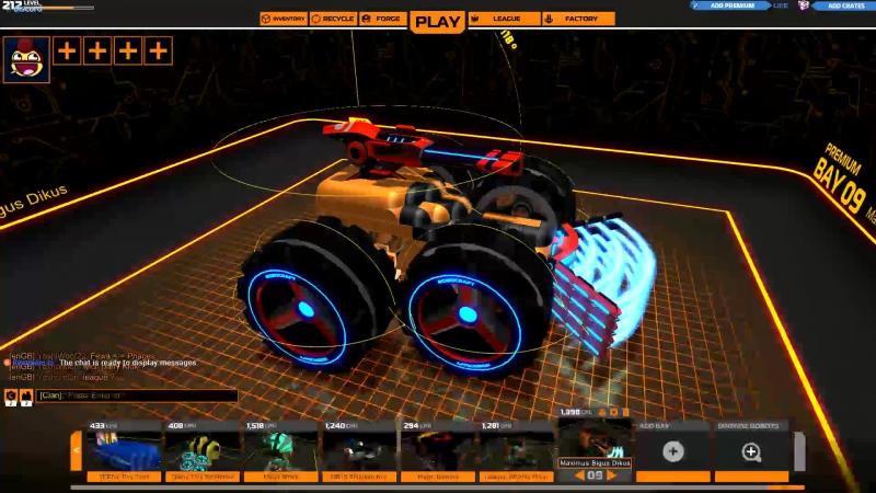 Wroom WRoom WROOm WROOOm robocraft