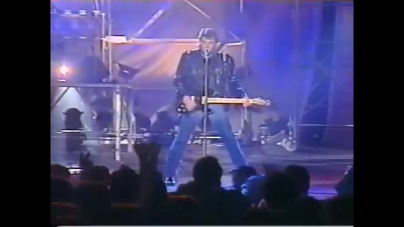 Johnny Hallyday - Blues Suede Shoes (1989)