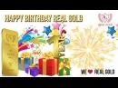 1 Год Real Gold Поздравления от Лидера команды VipClub Руслана Ульнерова