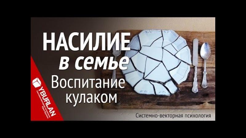 Насилие в семье Воспитание кулаком Системно векторная психология Юрий Бурлан