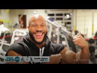 NEW. Phil Heath - Biceps Triceps Workout 2017 Фил Хит тренировка рук.