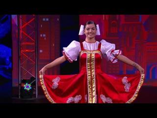 Танцы: Алёна Виноградова (Белый День - Валенки) (сезон 3, серия 9)