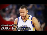Stephen Curry Full Highlights 2017.01.16 vs Cavs - 20 Pts, 11 Assists in 3 Quarters!