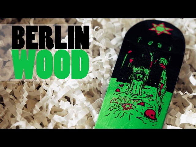 Berlinwood Fingerboards Youth 2017 Graphic Fingerboard Deck Product Blog