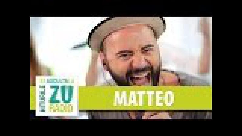 Matteo - Gandesc cu voce tare (Live la Radio ZU)