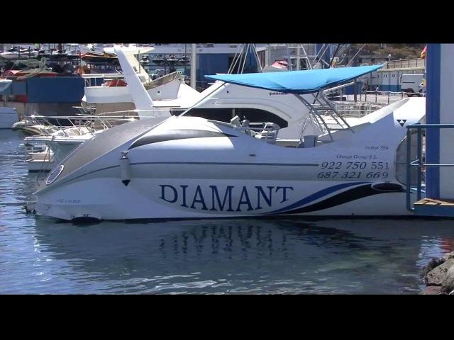 Тенерифе: смотрим на китов на лодке со стеклянным дном