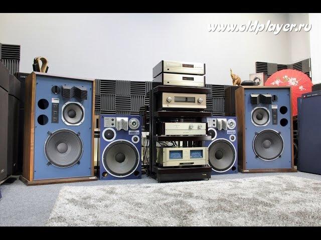 JBL 4344 тест Oldplayer аудио винтаж
