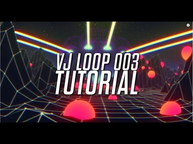 VJ Loop Tutorial 003 - Cinema 4D