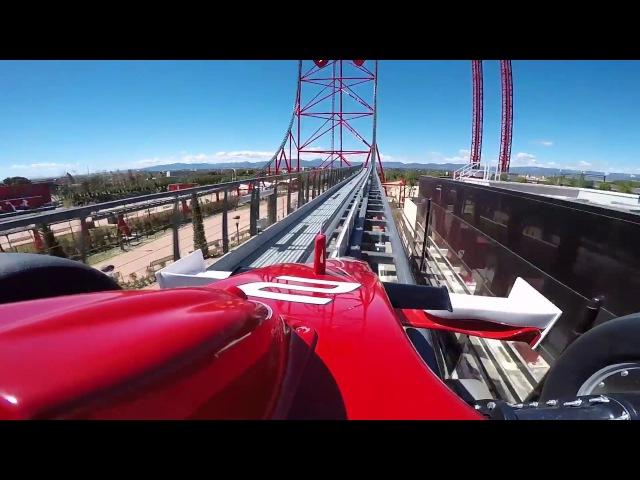 Red Force | POV | Ferrari Land | PortAventura World