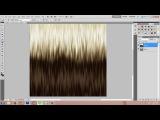 Adobe Photoshop Ombre Hair Texture Tutorial - IMVU, Second Life, The Sims, RLC