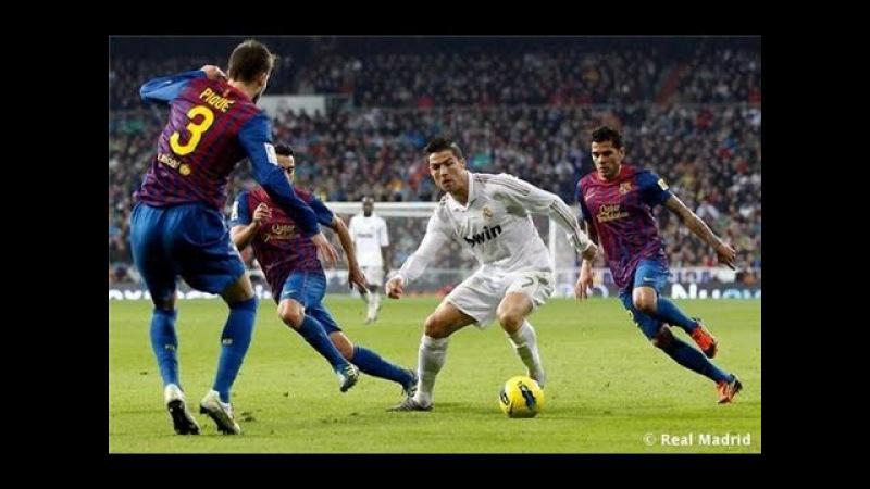 Роналду обыграл всех игроков Барсы
