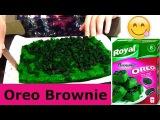 Oreo brownies RESIPE cheesecake cookie cake bake earthquake buzzfeed tasty cupcake Орео брауни