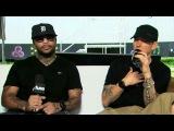 Eminem в компании Mr. Porter (D12) и Royce Da 59 задисили Lil Wayne и Young Money. (2017 г.)