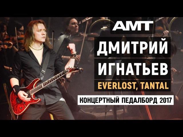 Дмитрий Игнатьев концертный педалборд 2017