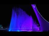 Шоу поющих фонтанов Сочи под музыку Майкла Джексона Singing fountains by songs of Michael Jackson