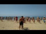 Фитнес на пляже, отдых в Сиде (Турция) 06.06.2017