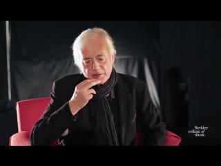 Jimmy Page. Эксклюзивное интервью. Мотивация для гитаристов